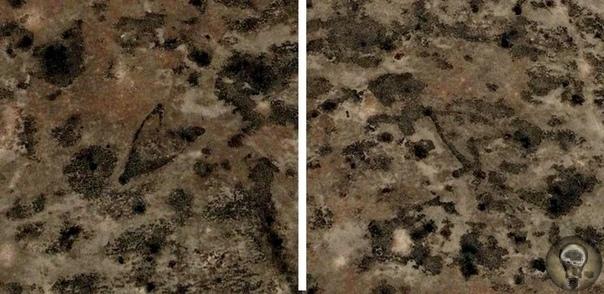 Гигантские стрелки, словно нарисованные неизвестным великаном на поверхности Земли между Каспийским и Аральским морями Плато Устюрт это уникальное по своей красоте место между между Каспийским и