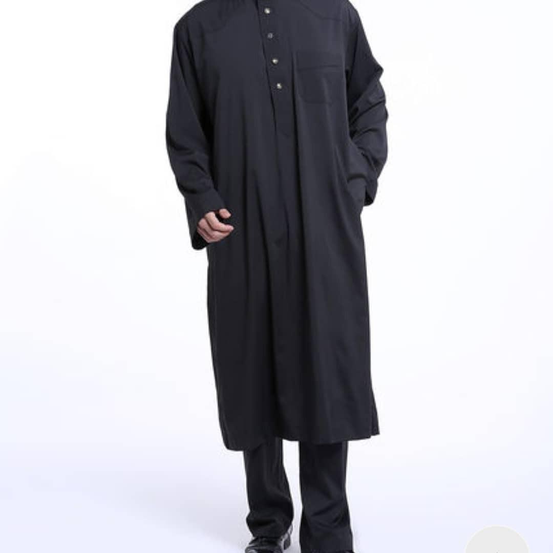 Мы отшили мусульманский мужской камис с брюками.