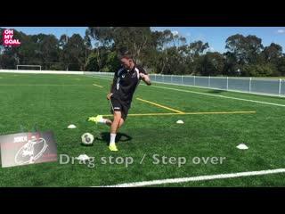 25 футбольных упражнений на контроль мяча