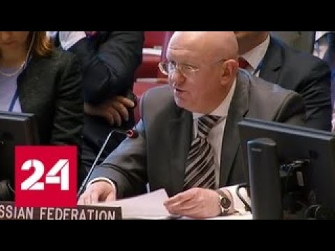 С ног на голову Украина в ООН попыталась обвинить Россию в ползучей аннексии - Россия 24