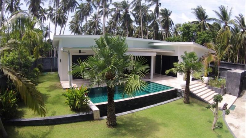 🏡Объект №106 3х спальная вилла с бассейном на Ламаи о Самуи Таиланд