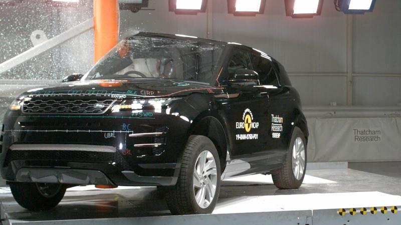 Euro NCAP Crash Test of Range Rover Evoque 2019