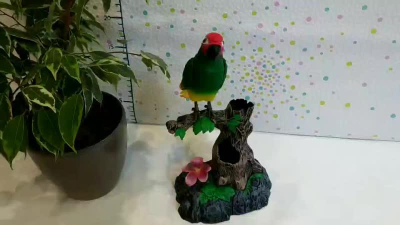 """Птичка- повторяшка (попугай на веточке) от компании Интернет-магазин детских игрушек """"СуперДеткам"""" - видео"""