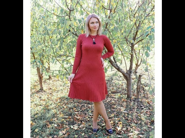 Long O neck Sweater dress women Autumn Winter Thick A line dress Slim Female Jumper female knitted d