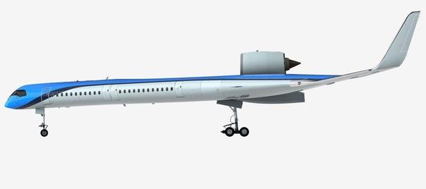 Экспериментальный самолет из Голландии с пассажирами в крыльях