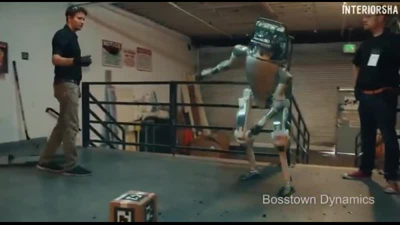 робот на собеседовании
