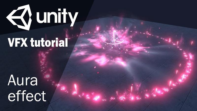 Магическая аура усиления   Урок по созданию игровых спецэффектов в Unity 3D
