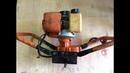 Ручной Мотобур Регламентный ремонт бензо инструмента с большой буквы