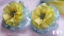 🌺Цветы из репcовых лент 🌺DIY🌺 Grosgrain ribbon flower
