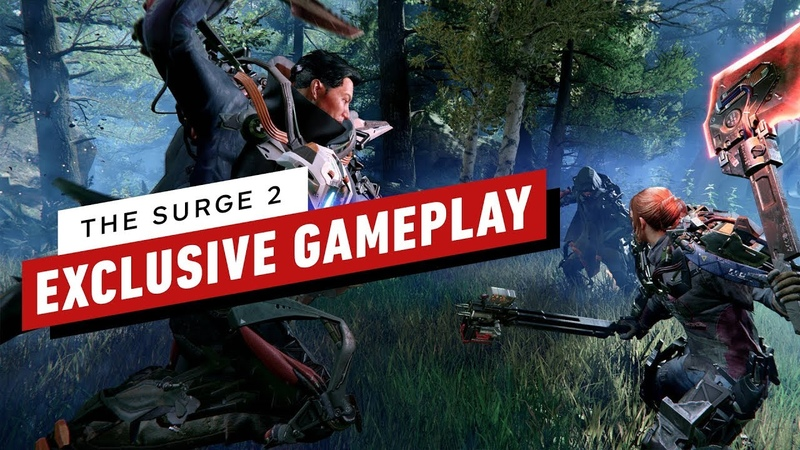 The First 16 Minutes of The Surge 2 60FPS