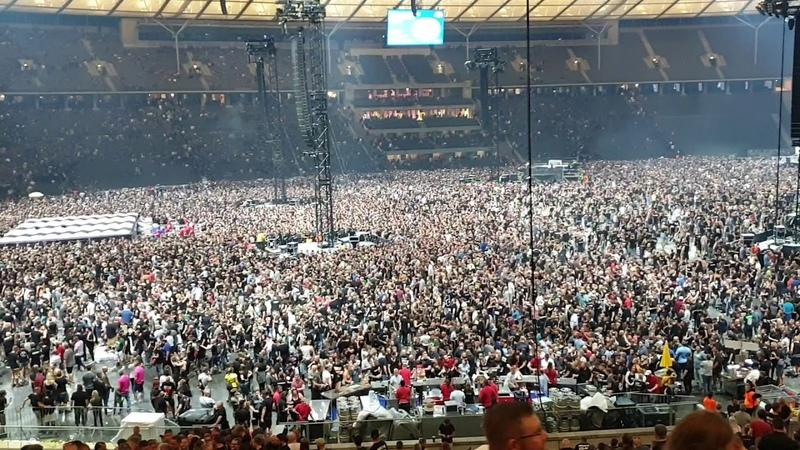 Rammstein Stadion Tour 2019 Olympiastadion Berlin