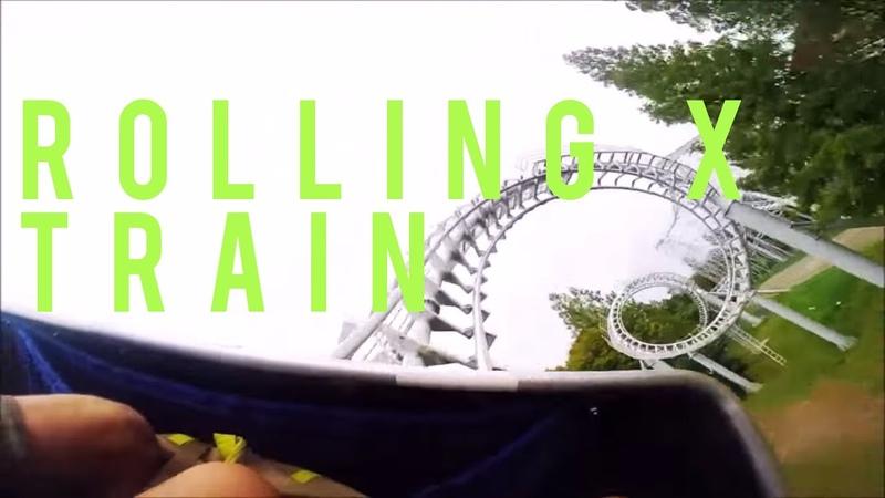 Rolling X Train Rollercoaster POV || Everland: Seoul, South Korea || TLVSION ØF NOMADS