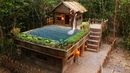Build Technologically Modern Forest Houses with Garden and Swimming Pool