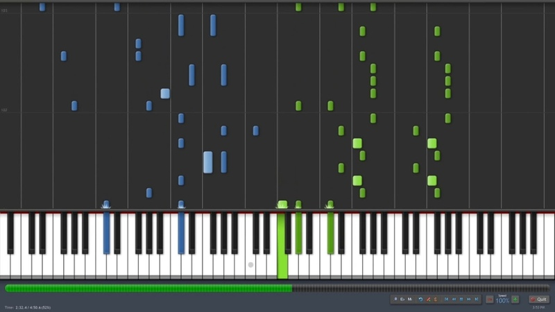Night of Fire - Initial D OST (Piano Synthesia)