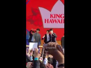 Jimin and jungkook shaking hands btsongma