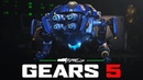 GEARS 5 Horde Mode Gameplay - 20 Minutes of JACK Character Gameplay Gamescom 2019