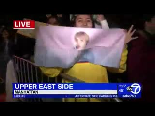 THE BTSArmy lined up overnight for BTSonGMA despite the rain and cold abc7NY