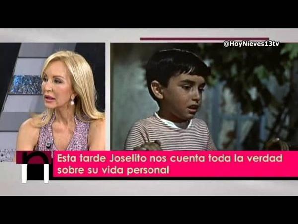 Joselito:no estaba preparado para que mi mundo del cine se acabase tan pronto, Hoy Nieves