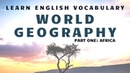 World Geography in English: Africa
