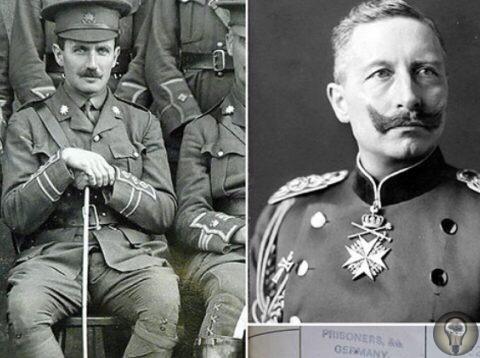 Офицер британских войск, капитан Роберт Кэмпбелл, узнал о том, что его мать находится при смерти, когда сам был в плену германских войск