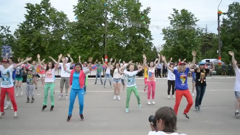 флешмоб Кстово в Нижним Новгороде