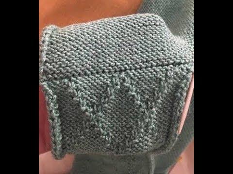 Cucitura a maglia con i tre ferri