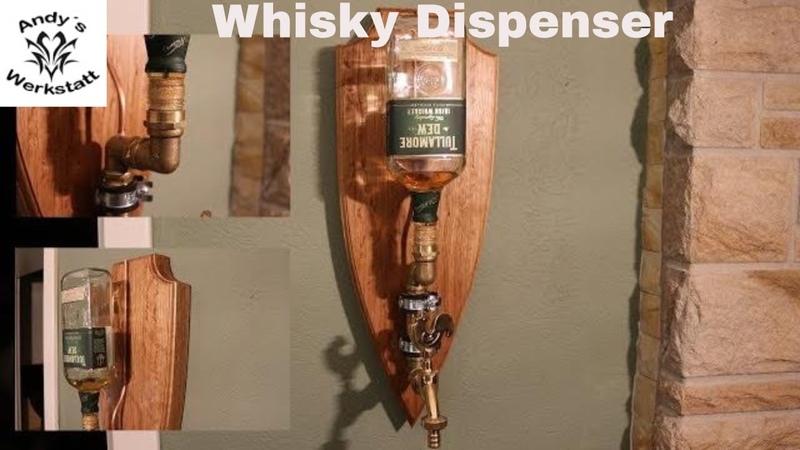 WhiskyRumLikör Dispenser aus Eiche - diy