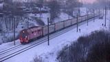 ТЭП70БС-172 с поездом Калининград - СПб TEP70BS-172 with a passenger train