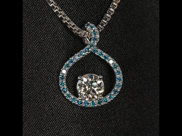 Christopher Michael Designed Diamond Pendant
