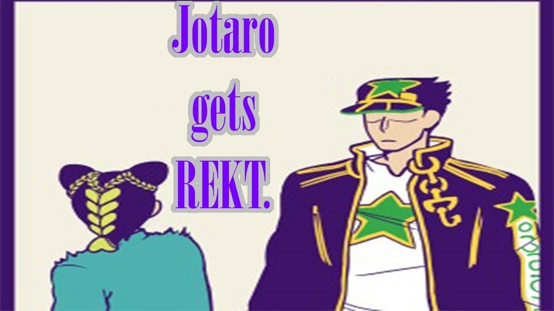 Jotaro Gets rekt [COMIC DUB]