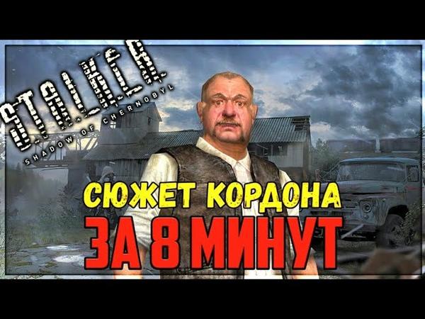 переозвучка персонажей Сталкер Тени Чернобыля на локации Кордон или приключение Конечного 1