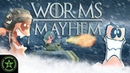 THE BATTLE OF WINTERFELL - Worms W.M.D. - Worms MAYhem | Let's Play