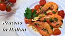 King Prawns with Tomato and Garlic in Italian