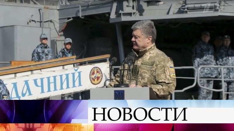 На Украине Петр Порошенко опять сдает анализы на алкогольную и наркотическую зависимость