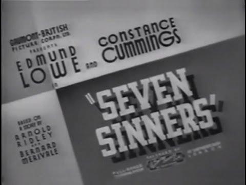 Seven Sinners (1936) [Thriller]
