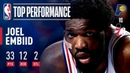 Joel Embiid Returns To Action With 33 Points 12 Rebounds | March 10, 2019