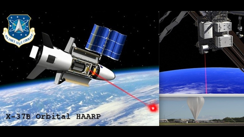 Russia Threatening To Expose The X-37B 'QUAKE-PLANE''? Advanced Extremely High Frequencies Systems