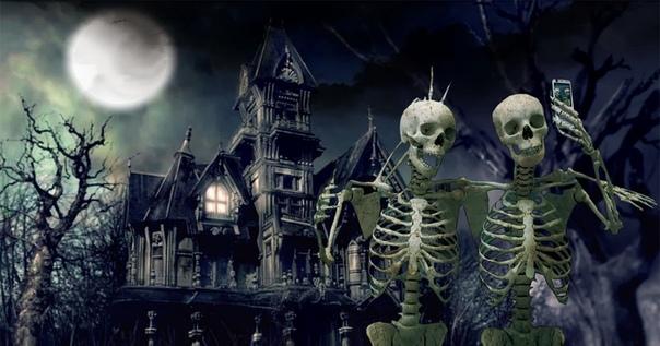 ХЭЛЛОУИН !!! Хэллоуин праздник, традиционно отмечаемый накануне католического Дня всех святых, в ночь с 31-го октября на 1-е ноября. Характерная атрибутика и мистическая подоплека постепенно