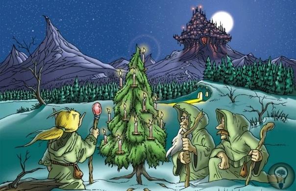 Почему ёлка символ Нового года В западной культуре образ ёлки известен, прежде всего, как один из главных символов Рождества история этой традиции насчитывает уже шесть веков.Серьезную