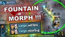 FOUNTAIN MORPHLING! - Game-Breaking 7.22c Dota 2 BUG!