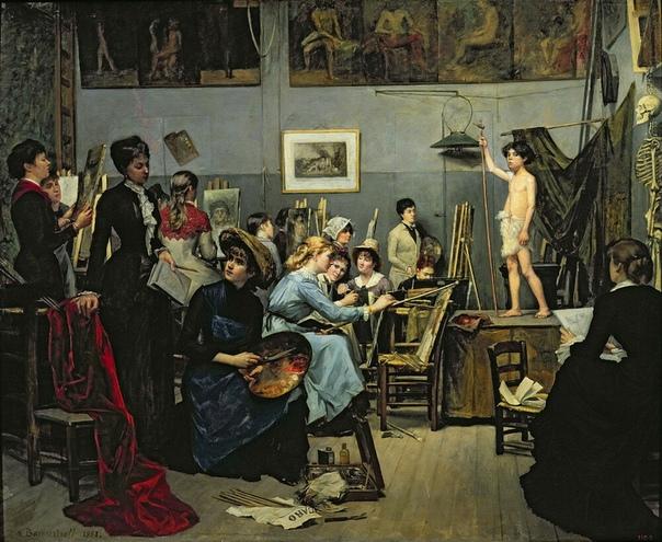 Русские художницы XIX века