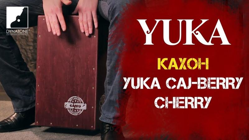 Обзор кахона YUKA CAJ-Berry Cherry