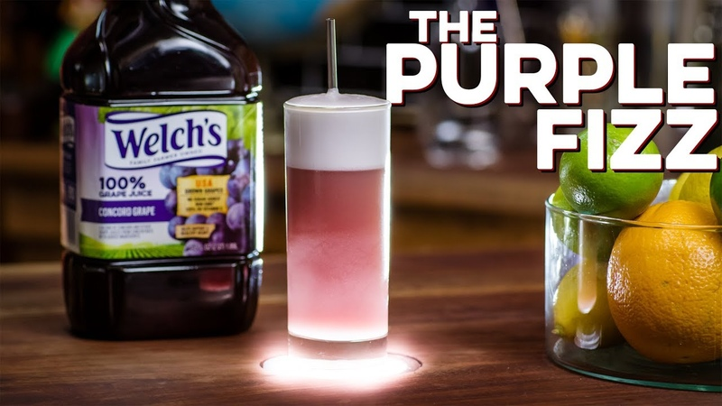 Welch's Purple Fizz How to Drink