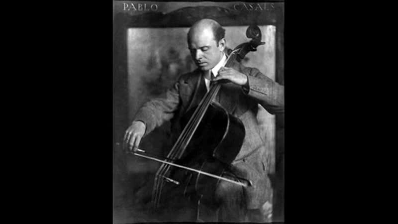 Pablo Casals KOL NIDREI Bruch Op 47 1936