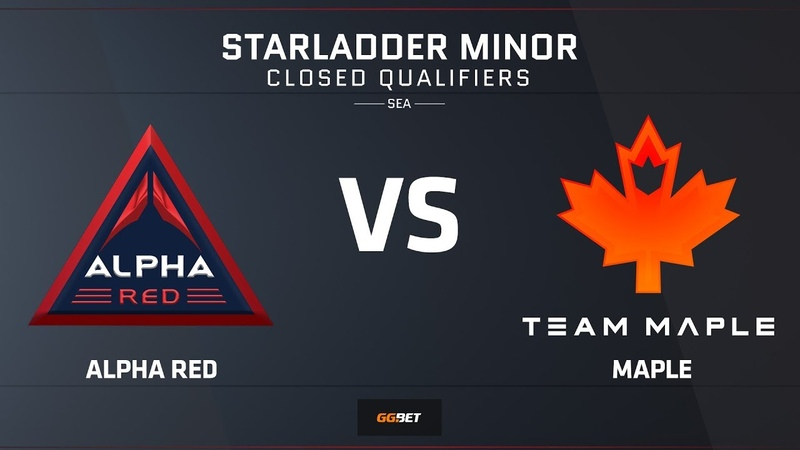 Alpha Red vs Maple | Map 1 – Overpass | Asia Minor SEA Closed Qualifier – StarLadder Major 2019