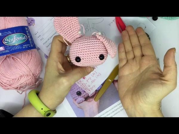 Conejito cuadrado amigurumi 5