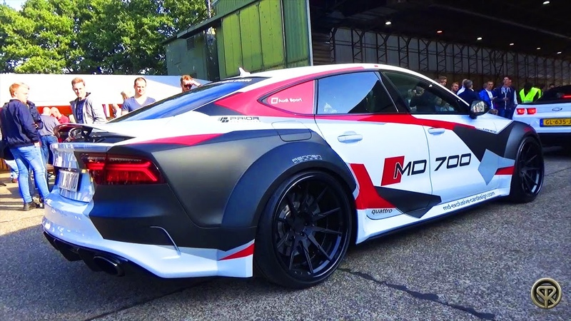 Audi RS7 MD700 w/ Prior Design PDR700 Widebody - Exhaust Sound Accelerations