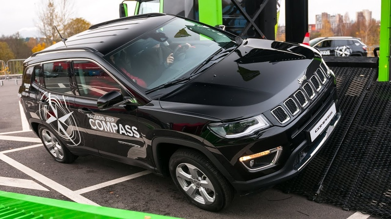 2018 Jeep Compass extreme test drive