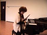 Masterclass Carmen Piazzini Mozart Variations on the arietta