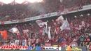 Обзор красно-белых трибун на матче Спартак - Сочи